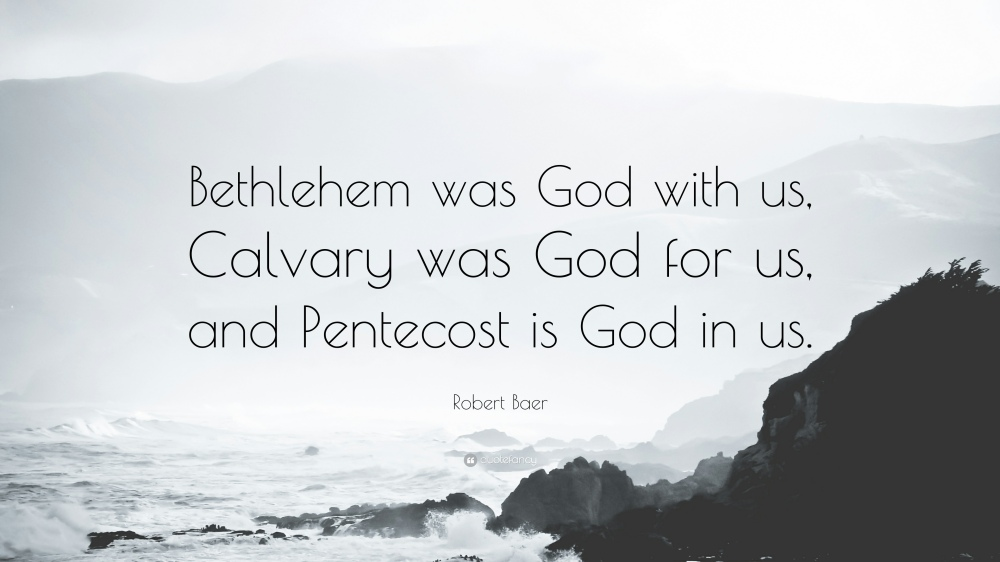 Robert-Baer-Quote-Bethlehem-was-God-with-us-Calvary-was-God-for-us